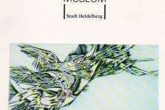 Catalogue, Exhibition Kurpfalzisches Museum Heidelberg 1992-1993
