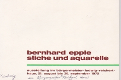 Catalogue, Exhibition, Ludwigshafen, 1972