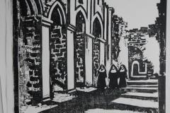 woodcut-church